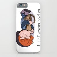 iPhone & iPod Case featuring I Just Wanna Hold Ya by Ashley R. Guillory