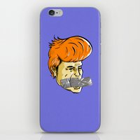 Donald Duct iPhone & iPod Skin
