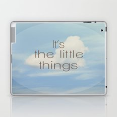 The Little Things Laptop & iPad Skin