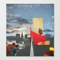 The City As Home 4 Canvas Print