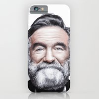 iPhone & iPod Case featuring A tribute to Robin Williams by Antoine Dutilh