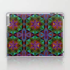 The Flower of Life (Sacred Geometry) 2 Laptop & iPad Skin