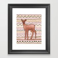 I Deer You To Dream Framed Art Print