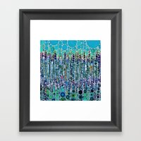 :: Blue Raspberry Martin… Framed Art Print