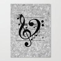 Love Music Canvas Print