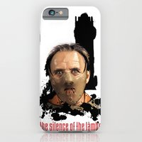 iPhone & iPod Case featuring Hannibal Lecter: Monster Madness Series by SRB Productions