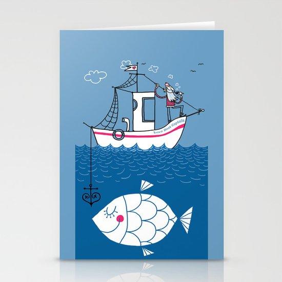 Love Boat Captain Stationery Card