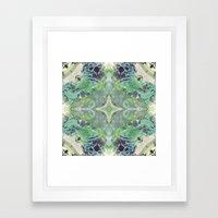 Abstract Texture Framed Art Print