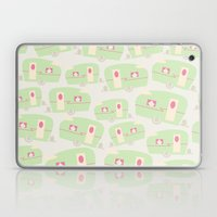 Retro Trailer Pattern Laptop & iPad Skin