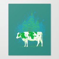 mosscow Canvas Print