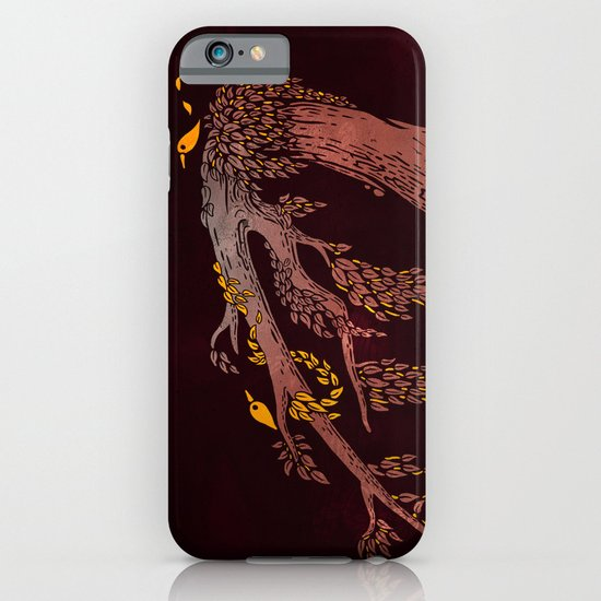 Tree Birds iPhone & iPod Case
