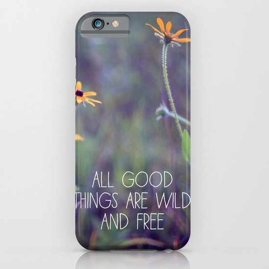 All Good Things (Daisy) iPhone & iPod Case