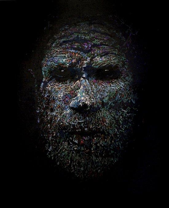 Chimbu Man Art Print