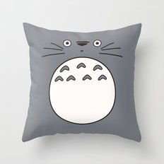 Totoro Throw Pillow