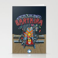 Bartkira throne Stationery Cards