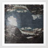 Glacial Shift Art Print