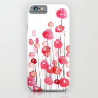iPhone & iPod Case featuring Poppies in Pink by Sara Berrenson