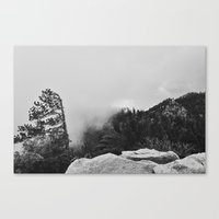 Canyon Fog Canvas Print