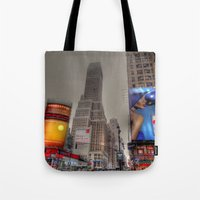New York Times Square Tote Bag