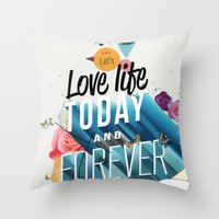 Everything Forever Throw Pillow