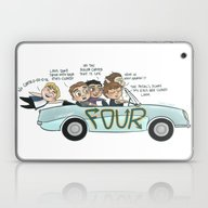Laptop & iPad Skin featuring No Control by Cyrilliart