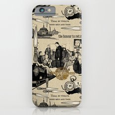 Murder on the Orient Express (Agatha Christie) Toile de Jouy Slim Case iPhone 6s