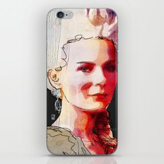 Kirsten Dunst as Marie Antoinette iPhone & iPod Skin