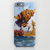iPhone & iPod Case featuring Viking by Jose Luis Ocana