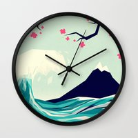 Falling in love 2 Wall Clock