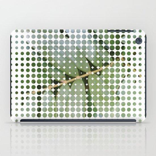 mesh white iPad Case