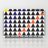 graphic triangle iPad Case
