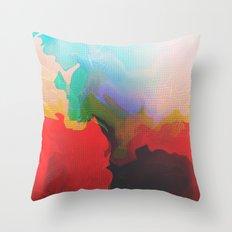 Glitch 14 Throw Pillow