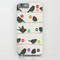 iPhone & iPod Case featuring Birdsong Gosh by Rachel Burbee & Garima Dhawan by Garima Dhawan