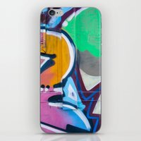 Train Graffiti  iPhone & iPod Skin