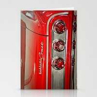 1963 Mercury Comet Red Stationery Cards
