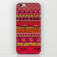 Yzor pattern 013 Summer Sunset iPhone & iPod Skin