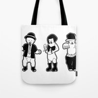 Gangster babies. Tote Bag