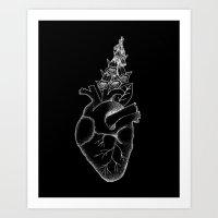 Digitalis Art Print