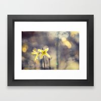 Garden: End Of Winter Framed Art Print