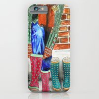 iPhone & iPod Case featuring Autumn shoes by Anastasia Tayurskaya