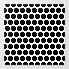 Graphic_Polka Dots  Canvas Print
