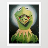 Frogception Art Print