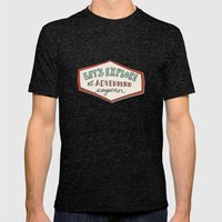 Let's Explore! Mens Fitted Tee Tri-Black SMALL