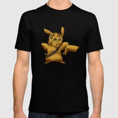 Poké Wars SMALL Black Mens Fitted Tee