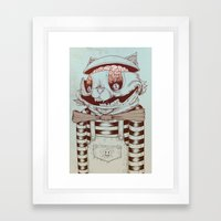 Kitty Fun Framed Art Print