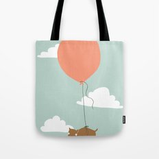 wiggle pup Tote Bag