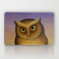 Mountain Scops Owl Laptop & iPad Skin