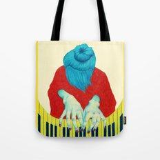 Piano Passion Tote Bag