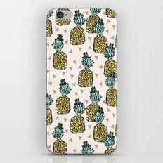Pineapple - Cream by Andrea Lauren iPhone & iPod Skin