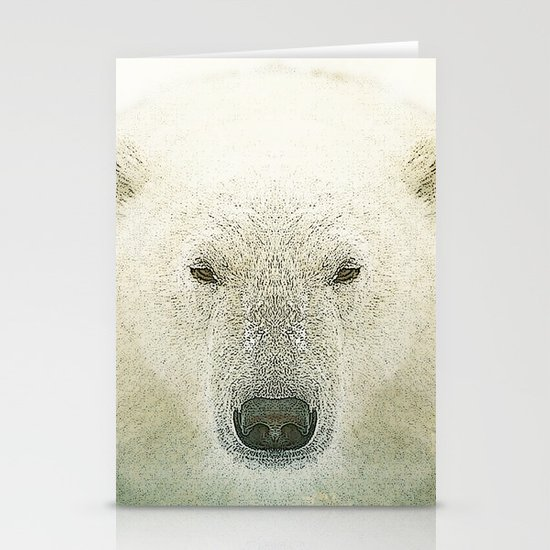 King of the north Stationery Card